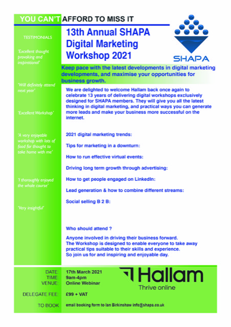 Shapa digital workshop